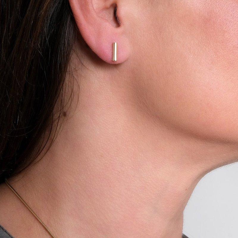Atlantic Gold Bar Earrings - Maureen Lynch