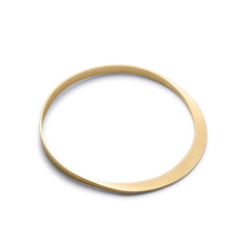Circle of Dreams Gold Bangle