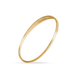 Sparkle and Dream Gold Sparkle Bangle