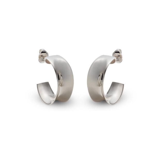 Silver Cuff Earrings